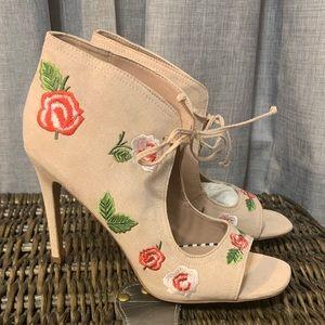 Betsey Johnson Floral Sandals